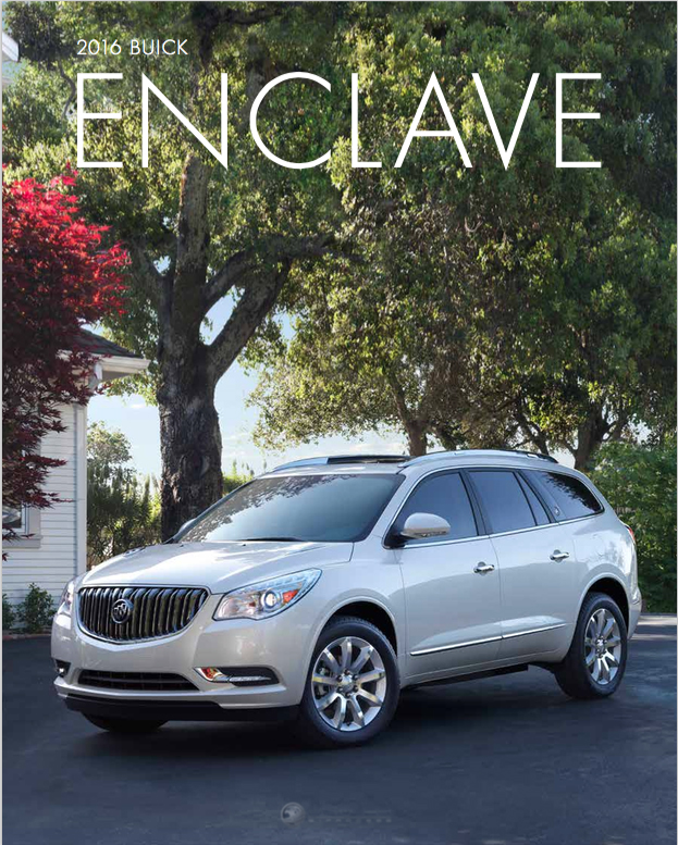 Graff Buick: Brochure Of 2016 Buick Enclave