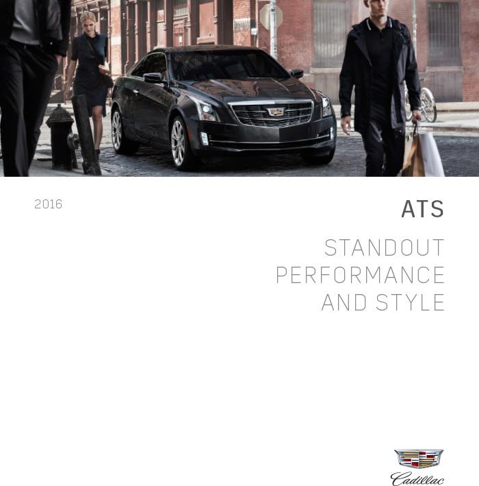 2016 Cadillac ATS Brochure Download – Graff Cadillac