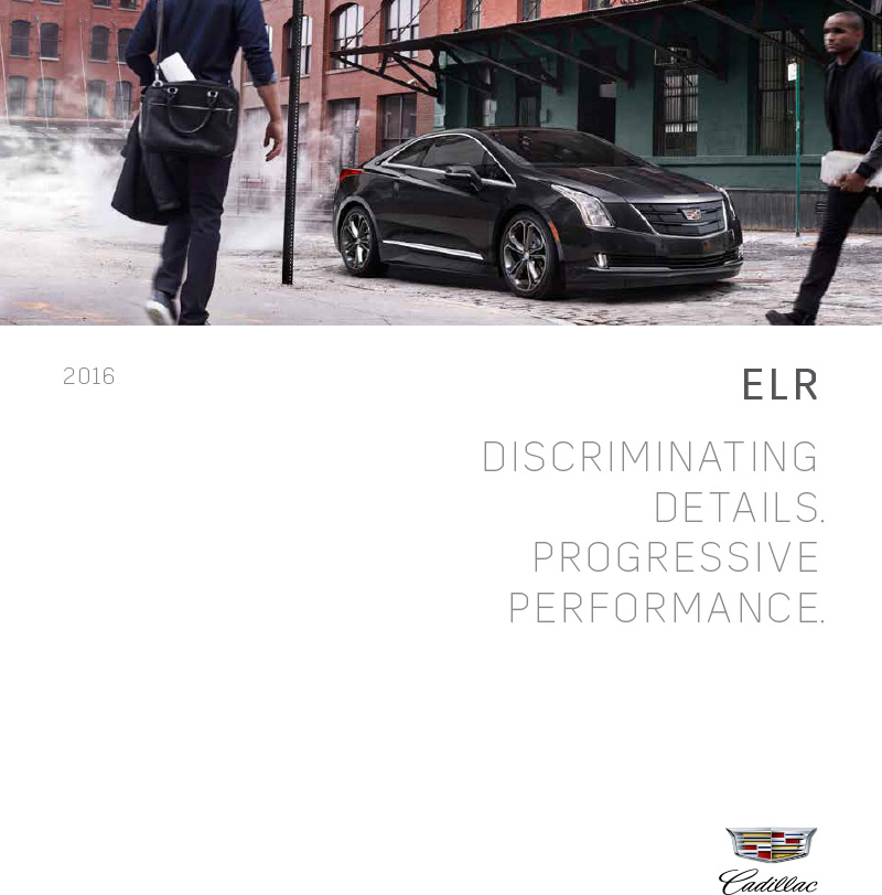 Graff Buick: Brochure Of 2016 Cadillac ELR