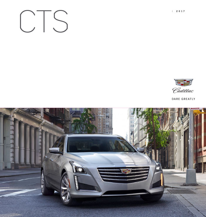 Graff Buick: Download The 2017 Cadillac CTS Brochure