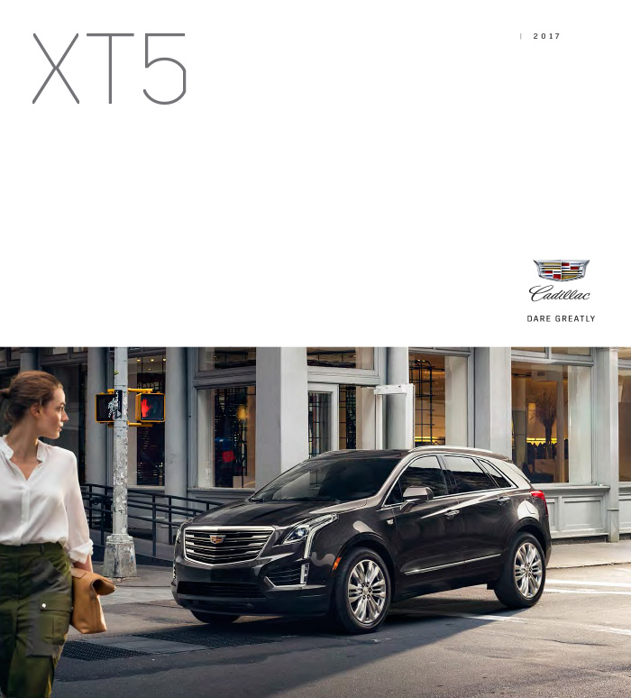 Graff Buick: Download The 2017 Cadillac XT5 Brochure