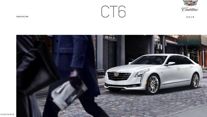 2018 Cadillac Ct6 Brochure Graff Mt Pleasant