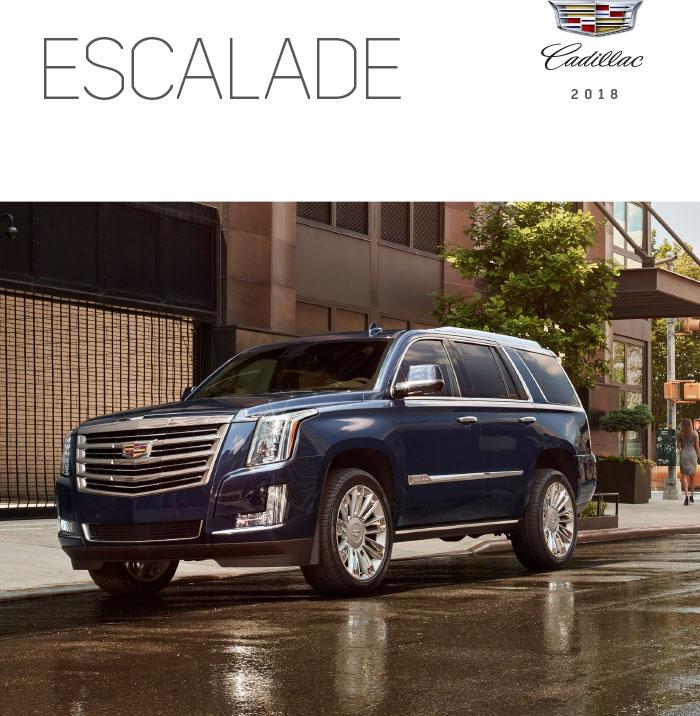 2018 Cadillac Escalade Brochure Graff Mt Pleasant