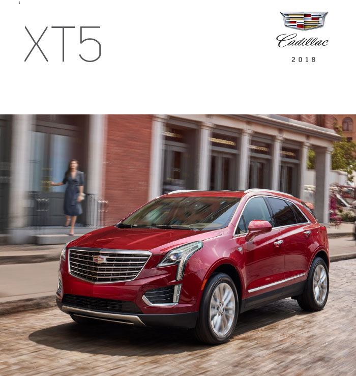 Graff Buick: 2018 Cadillac XT5 Brochure