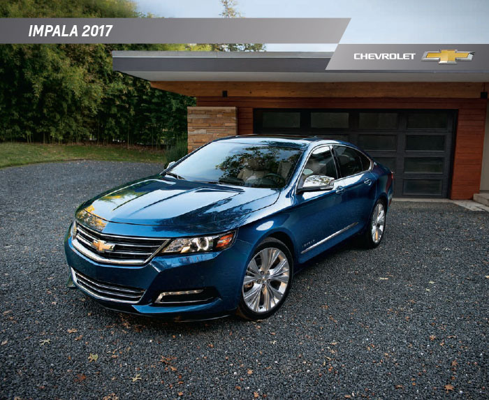 Graff Chevy >> 2017 Chevrolet Impala Brochure Download
