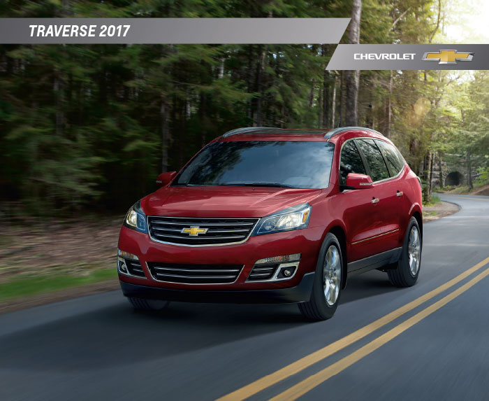 2017 chevrolet traverse brochure download. Black Bedroom Furniture Sets. Home Design Ideas