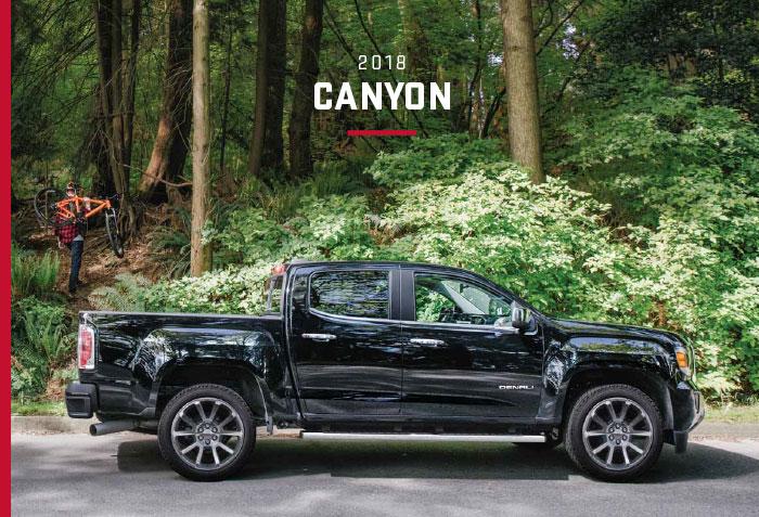2018 Gmc Canyon Brochure Graff Mt Pleasant