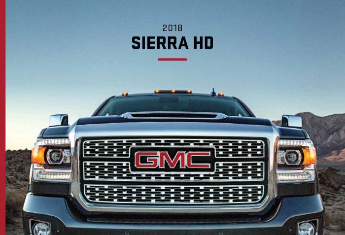2018 Gmc Sierra 2500hd Brochure Graff Mt Pleasant