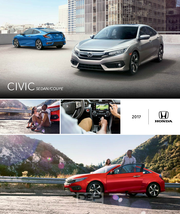 download the 2017 honda civic brochure