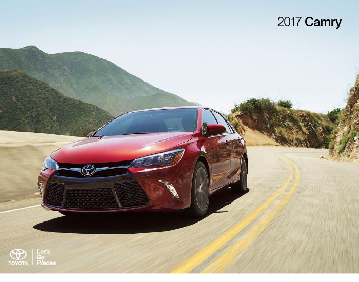 Downloadable 2017 Toyota Camry Brochure