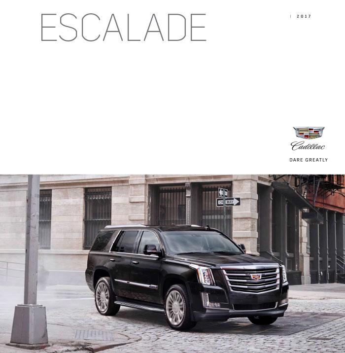 Download The 2017 Cadillac Escalade ESV Brochure