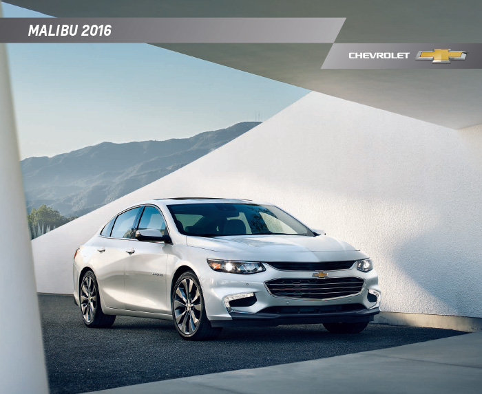 2016 Chevrolet Malibu Brochure Download – Graff Durand