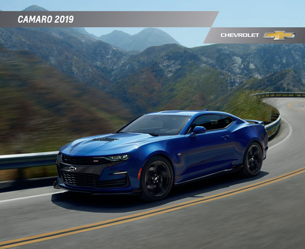 2019 Chevy Camaro Brochure Graff Bay City
