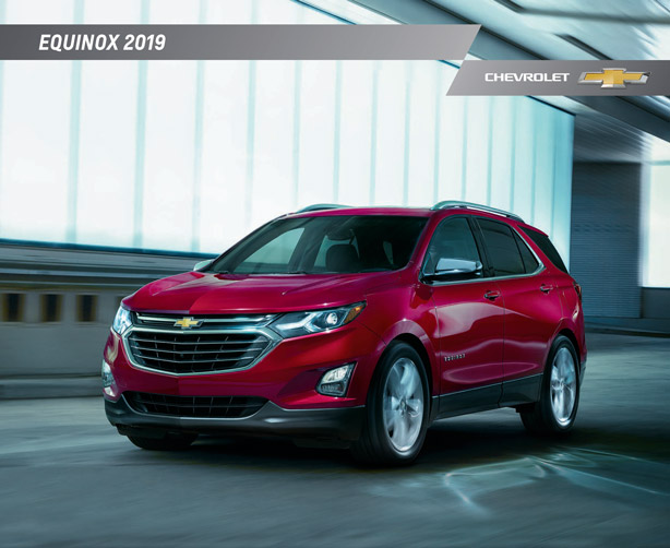 2019 Chevrolet Equinox Brochure Graff Bay City