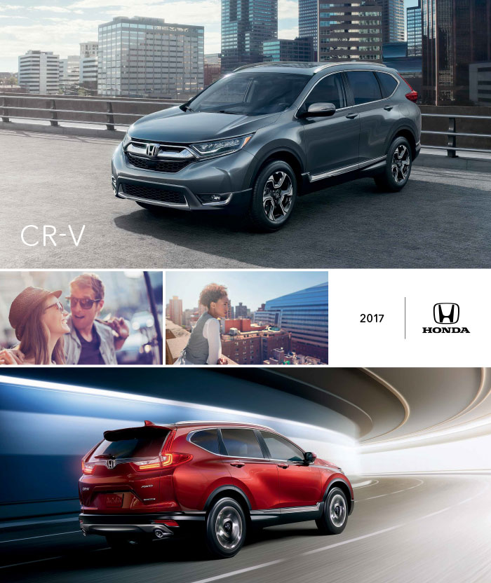 2017 honda cr v brochure download